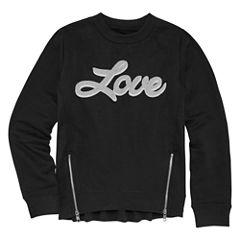 Limited Too Long Sleeve Sweatshirt - Big Kid Girls