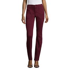 Liz Claiborne Woven Flat Front Pants