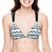 Arizona Halter Push-Up Bra Swim Top - Juniors