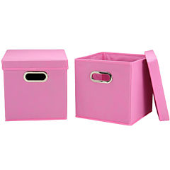 Household Essentials® Set of 2 Storage Cubes