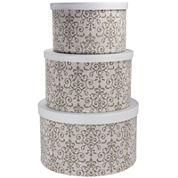 Household Essentials® 3-pc. Nesting Hat Box Set