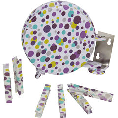 Household Essentials® Single-Line Retractable Clothesline - Dots