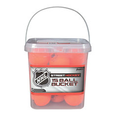 Franklin Sports NHL Hi Density Street Hockey BallBucket