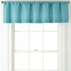 JCPenney Home™ Cotton Classics Rod-Pocket Valance