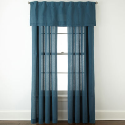 Attractive JCPenney Home™ Cotton Classics Rod Pocket Window Treatments