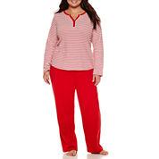 Liz Claiborne Pajama Pants - Plus