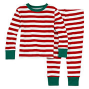 North Pole Trading Co Family Pajamas Unisex Long Sleeve Kids Pajama Set-Baby