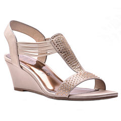 New York Transit Great Right 2 Womens Wedge Sandals