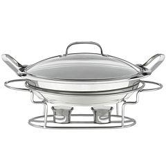 Cuisinart® Stainless Steel Round Buffet Server