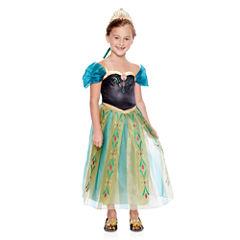 Disney Collection Anna Coronation Costume, Tiara or Shoes