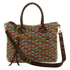 T-Shirt & Jeans™ Braided Handle Satchel