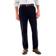 St. John's Bay® Worry Free Flat-Front Pants