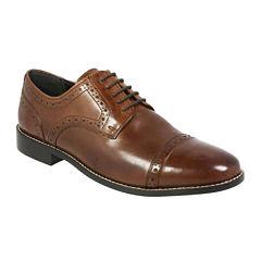 Nunn Bush® Norcross Mens Cap-Toe Leather Oxfords