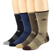 Columbia® 4-pk. Moisture Control  Mens Crew Socks