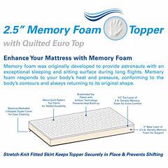 Arctic Sleep Memory Foam Mattress Topper