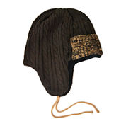 MUK LUKS® Cable Knit Trapper Hat