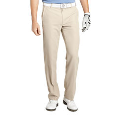 IZOD Golf Slim-Fit Flat-Front Pants