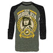 Bob Marley 3/4-Sleeve Raglan Tee