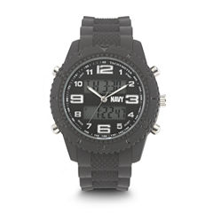 Wrist Armor U.S. Navy C27 Mens Gray Strap Watch-37400002
