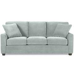 Fabric Possibilities Sharkfin-Arm Sofa