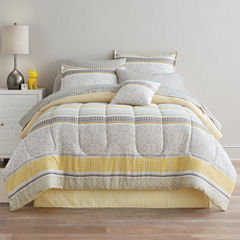 Home Expressions Nichols Complete Bedding Set with Sheets & Accessories
