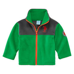 Us Polo Assn. Boys Midweight Fleece Jacket-Baby
