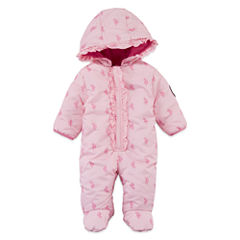 Us Polo Assn. Girls Heavyweight Snow Suit-Baby