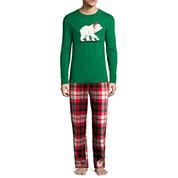 North Pole Trading Co. Knit Sleep Shirt Or Flannel Pajama Pants