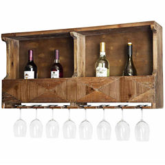 Revive Reclaimed Wood Wine Rack