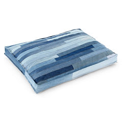 Carpenter Co. Cyrus Recycled Denim Pet Bed