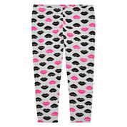 Total Girl Star Jersey Leggings - Big Kid