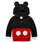 Boys Mickey Mouse Hoodie-Toddler