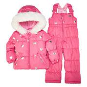 Weatherproof Girls Heavyweight Snow Suit-Baby