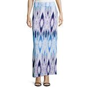 a.n.a® Side-Slit Maxi Skirt- Petite