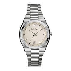 Bulova Womens Silver Tone Bracelet Watch-96m126