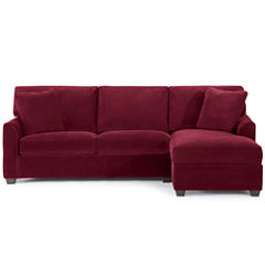 Fabric Possibilities 2-pc. Right-Arm Chaise/Loveseat Sectional
