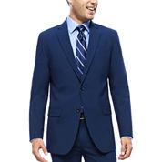 JF J. Ferrar® Blue Stretch Suit Jacket - Slim Fit