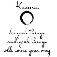 WallPops Karma Wall Quote