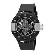 Invicta® S1 Rally Mens Black Dial Black Silicone Strap Sport Watch 17384