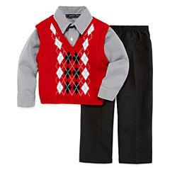 Andrew Fezze Sweater Vest Set - Toddler Boys 2t-5t