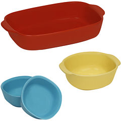 CW by CorningWare® 4-pc. Ceramic Bakeware Set