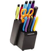 Farberware® 16-pc. Colored Knife Set