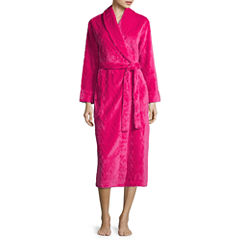 Sleep Chic Long Sleeve Plush Robe