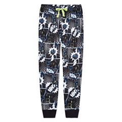 Arizona Husky Boys Comic Print Jogger Sleep Pant - Big Kid