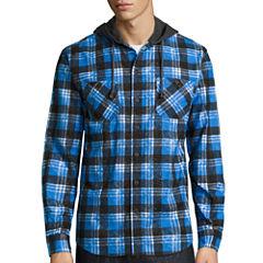 Unionbay® Long-Sleeve Hayward Flannel Hoodie