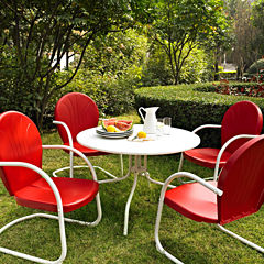 Griffith Metal 5-pc. Patio Dining Set