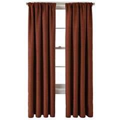 JCPenney Home™ Monroe Tweed Rod-Pocket/Back-Tab Curtain Panel