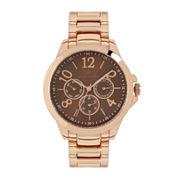 Worthington Womens Rose Goldtone Bracelet Watch-Wt00008-03