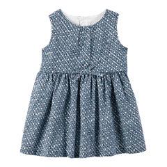 Carter's Long Sleeve Cardigan & Dress Set