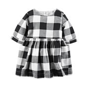 Carter's Long Sleeve A-Line Dress - Baby
